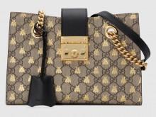 万元包包 Gucci 498156 padlock小蜜蜂 超好看!