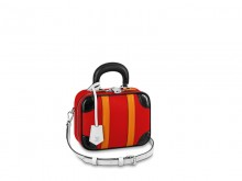 LV/路易威登 M55524 玫瑰红 MINI LUGGAGE BB 手袋