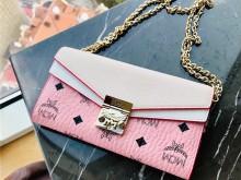 千元包推荐   mcm粉色链条包 上身图进来看