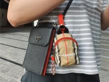 Burberry书包mini零钱包‼️超精致的小可爱‼️