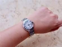 卡地亚蓝气球机械手表33mm佩戴一年小心得