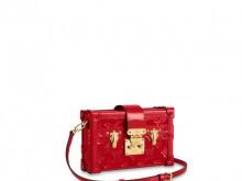LV M54181 红色漆皮 PETITE MALLE 盒子包