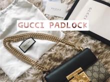 秋冬包推荐 | Gucci 409487 padlock 小号,最值得入手的包?
