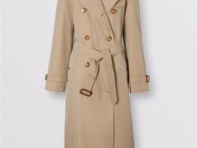 Burberry 80195251 蜜色 滑铁卢版型 Heritage Trench 风衣