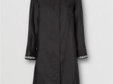Burberry 80158951 黑色 徽标装饰 ECONYL® 轻便大衣
