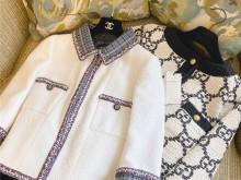 新购入的Chanel 2020早春系列和Gucci外套