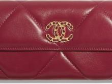 Chanel AP0955 B01564 N5032 深粉红 19长款口盖钱包