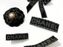 Chanel 圣诞限定山茶花限定丝带DIY头饰