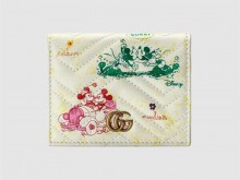 Disney x Gucci 616768 1TZAM 9183 米奇和米妮印花 GG Marmont系列卡包