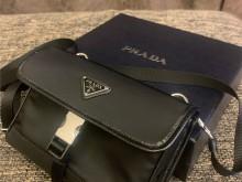 PRADA 2ZH108 2020手机包 两用斜挎腰包