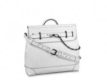 lV M55560 白色 STEAMER 小号手袋