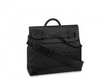lV M55701 黑色压纹 STEAMER 小号手袋