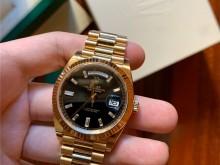 Rolex 228238 黄金黑面条钻刻度DD