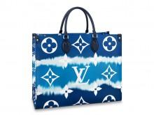 LV M45120 蓝色 EScale扎染系列 ONTHEGO 大号手袋