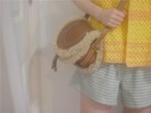 首发 chloé小众限量马鞍包 mini marcie bag毛毛包