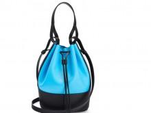 Loewe罗意威 0010445856 蓝色/黑色 Balloon 气球包