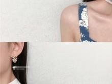 Chanel 2020新款星星心心鸳鸯耳钉 超美吖