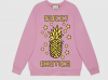 Gucci 617964 浅紫色 Gucci菠萝印花 卫衣
