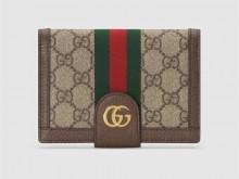 Gucci古驰 598914 Ophidia系列GG护照夹