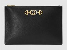 Gucci古驰 570728 黑色 Zumi系列手拿包