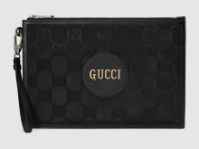 Gucci古驰 625598 黑色 Off The Grid系列手拿包