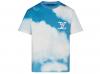 LV 1A89U4 蓝色 LV蓝天白云 云朵图案印花 T恤