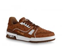 LV 1A5ERW 棕色 LV TRAINER 运动鞋