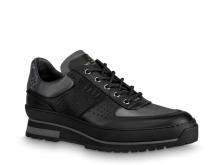 LV 1A5XLC 黑色 HARLEM 系带鞋