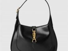 Gucci古驰 636709 黑色皮革 Jackie 1961系列小号手袋