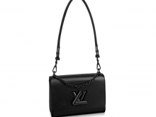 LV M55858 黑色 TWIST 中号手袋
