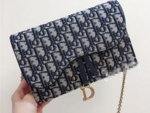 Dior woc链条包 小清新风格十足