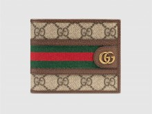 Gucci古驰 597611 Ophidia系列GG钱包