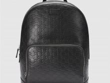 Gucci古驰 406370 Signature皮革背包