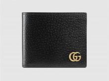 Gucci古驰 428726 GG Marmont系列皮革双折钱包