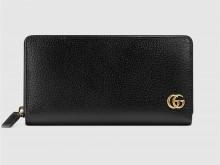 Gucci古驰 428736 GG Marmont系列全拉链式钱包