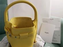 Celine甜橙黄水桶包~生活里的一抹小可爱