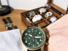 万国IWC IW387902 喷火战机飞行员计时青铜腕表