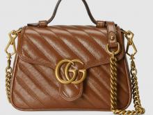 Gucci 583571 0OLFT 2535 GG Marmont系列 迷你手提包
