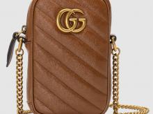 Gucci 598597 0OLFT 2535 GG Marmont系列 绗缝迷你手袋