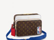 LV M45584 M45583 NBA联名系列 LVXNBA NIL 邮差包