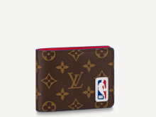 LV M80105 NBA联名系列 LVXNBA MULTIPLE 钱夹