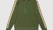 Gucci 596230 XJBUW 3806 针织棉连帽卫衣