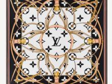 LV M76649 M76650 M76651 ULTIMATE MONOGRAM 方巾