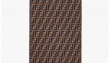 Fendi芬迪 FXS366A4Z4F0QE1 FF经典图案围巾