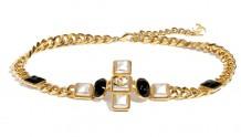 Chanel香奈儿 AB5072 B04426 N9381 金属与名贵树脂腰带
