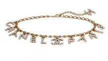 Chanel香奈儿 AB3750 B02994 N6909 金属与水晶腰带