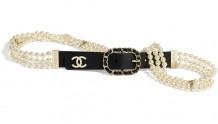Chanel香奈儿 AA6898 B03729 94305 琉璃珍珠与金色金属腰带