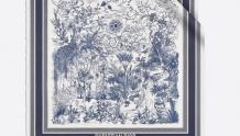 Dior 05TDJ090I610_C543 05TDJ090I610_C270 印花方巾