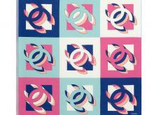 Chanel香奈儿 AA7372 B04888 NB159 方形围巾