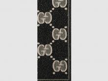 Gucci 598993 GG羊毛提花围巾